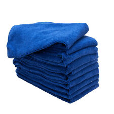 20 PACK NEW MICROFIBER TOWELS CLEANING TOWEL PLUSH 16X16 300 GSM LINT FREE ROYAL