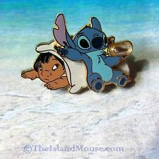 Disney Stitch Lillo Drinking Coffee in a Bottle Pin (UD:32904)
