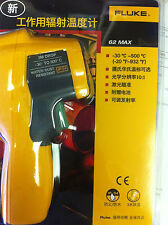 Fluke 62 Max IR Infrared Digital Thermometer Laser Gun Backlit w/Case USA Seller