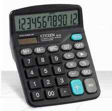 Solar Power Powered Battery Digit Calculator Desktop Jumbo Large Buttons AA*