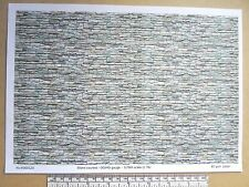 "OO/HO gauge (1:76 scale) ""stone courses""  paper - A4 sheet ( 210 x 297 mm)"