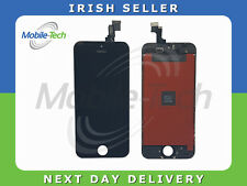 IPHONE 5s BLACK LCD TOUCH SCREEN DISPLAY DIGITIZER GLASS ASSEMBLY WITH FRAME