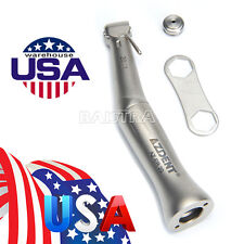 US STOCK 20:1 Reduction Dental Implant Contra Angle Push Low Speed Handpiece NEW