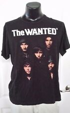 The Wanted USA Summer 2012 Concert Tour Black T Shirt Large Rare