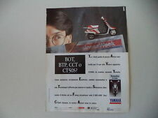 advertising Pubblicità 1990 YAMAHA CT 50 S