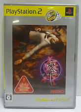 FATAL FRAME - PROJECT ZERO - THE BEST SERIE - PLAYSTATION 2 PS2 NTSC JAPAN