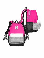 Victorias Secret PINK CAMPUS BACKPACK GYPSY ROSE MARL GRAY NWT