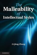 The Malleability of Intellectual Styles, , Zhang, Li-fang, Very Good, 2013-09-09