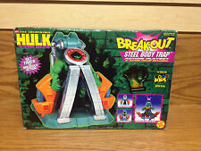 The INCREDIBLE HULK Breakout STEEL BODY TRAP Action Playset by ToyBiz
