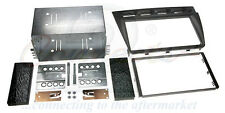 CT23KI10 Kia Picanto 2005-2007 Double Din Stereo Facia Kit BLACK