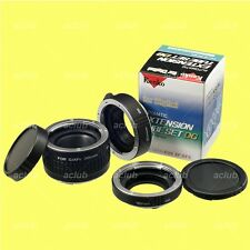 Genuine Kenko Automatic Extension Tube Set DG Tubeset for Canon EOS EF/EF-S