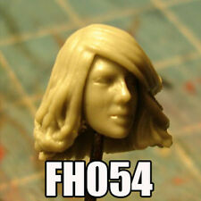 "FH054 Custom Cast Sculpt part Female head cast for use with 3.75"" action figures"