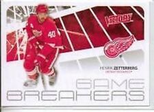 Henrik Zetterberg 2011-12 Upper Deck Victory Game Breakers GB-HZ