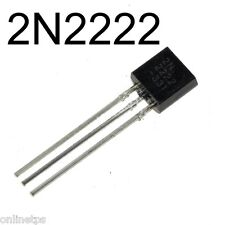 10 Pc 2N2222 Transistor TO-92 Plastic Package For Electronic projects,DIY Kits