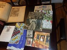 Lot Royal Family Windsor memorabilia Queen Elizabeth's coronation Anglophile