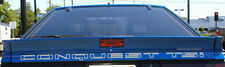 New 1987-1989 Chrysler Conquest TSI OEM Rear Billboard Decal Turbo Wide Body