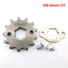 428-20mm-13Tooth Front Engine Sprocket For CRF XR 50 70 KLX110 TTR Pit Dirt Bike