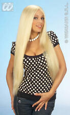 Ladies Long Blonde Wig Glamour Model Towie Essex Girl Barbie Fancy Dress