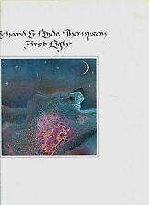 RICHARD & LINDA THOMPSON first light UK 1978 EX LP