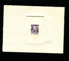 Peru 1938 Food Industry Bank Scott 379 Early Sunken Die Proof