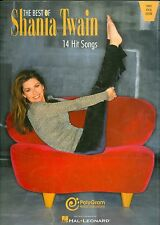 Best Of Shania Twain songbook sheet music From This Moment On Any Man Of Mine