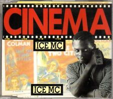 Ice MC - Cinema - CDM - 1990 - Eurodance Italodance Robyx Touch Of Gold France
