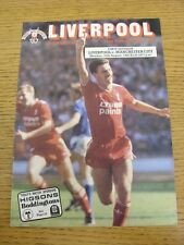25/08/1986 Liverpool v Manchester City [League Runners Up] . Thanks for viewing