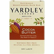 Yardley London Naturally Moisturising Bath Bar Cocoa Butter Soap 120g