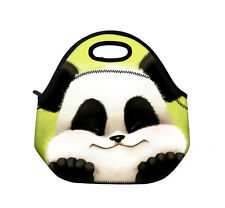 Panda Portable Insulated Thermal Cooler Lunch Tote Bag Storage Pouch Picnic C0