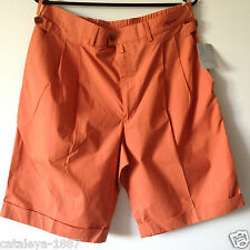ORIGINAL BOGNER GOLF HERREN MÄNNER BERMUDA SHORT SHORTS ORANGE GR. EU 50 - GR. L