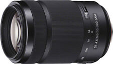 Open-Box: Sony - DT 55-300mm f/4.5-5.6 A-Mount Telephoto Zoom Lens - Black