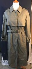 Brown Coat Salzburger Vintage Winter Trench Style Wool