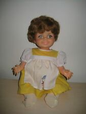"VTG 1968 16"" Baby Doll Giggles Ideal Flirty Eye Hard Plastic & Vinyl  Nice Color"