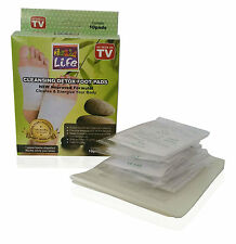 2 boxes=20 pcs Kinoki Herbal Detox Foot Pads Detoxification Cleansing Patches