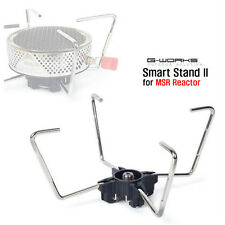 New G Works Smart Stand 2 for MSR Reactor Gas Stove Wide Holder Camping Outdoor