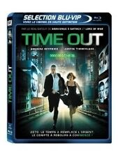 BLU RAY *** TIME OUT *** avec Justin Timberlake ( neuf sous blister )