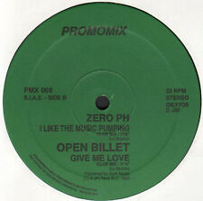 VARIOUS (MAX-A-MILLION / MOLELLA / ZERO PH / OPEN BILLET) - Promo-Mix 68 - Time