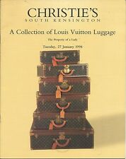 CHRISTIE'S A Collection of Louis Vuitton Luggage Auction Catalog 1998