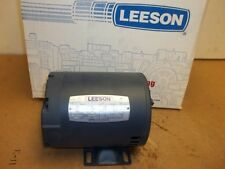 New - Leeson 1/3HP  Electric Motor 101535.00