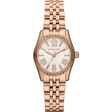 **NEW* LADIES MICHAEL KORS  ROSE GOLD  MINI LEXINGTON WATCH MK3230 -RRP £209
