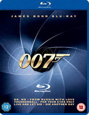BOND BOX SET - 6 TITLES - BLU-RAY - REGION B UK