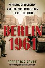 Berlin 1961 By Frederick Kemke BRAND NEW ILLUSTRATED HARDCOVER BOOK