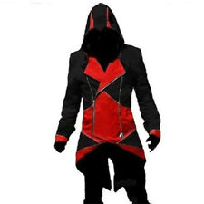 Assassins Creed 3 III Connor Kenway Hoodie Jacket Coat Cosplay Costume XS-5XL
