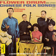 Flower Drum & Other Chinese Folk Songs by Stephen C. Cheng (CD, Oct-1994,...