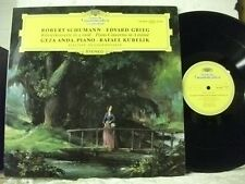 138 888 SCHUMANN Concerto for Piano & Orchestra GRIEG ANDA KUBELIK DG STEREO LP