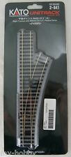 "HO Scale Code 83 Right Turnout with 490mm (19-1/4"") Radius Curve - Kato #2-841"