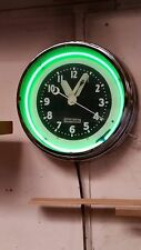 1933 Vintage Glo Dial Clock Co.  Los Angeles - 15 inch diameter