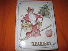 Heinrich Bahlsen Weihnachtsmotiv Hannoversche Cakes Fabrik Blechdose