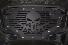 Custom Grill Stainless Steel Grille PUNISHER AR15 for RZR900 Polaris RZR 800/900