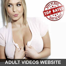 RARE Fully Automated Turnkey Adult Videos Website 4 sale w/ admin - Must See
